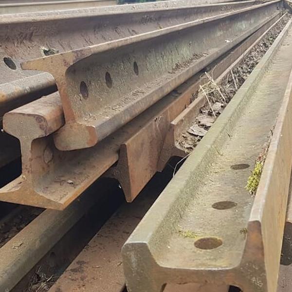 Железнодорожные Рельсы Р-43, 12,5 м, (44,64кг)