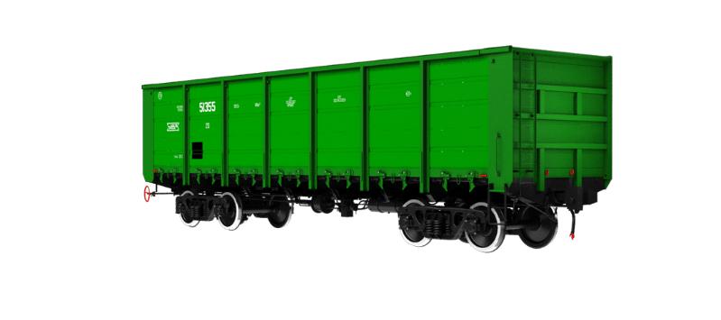 Модель полувагона 12-132
