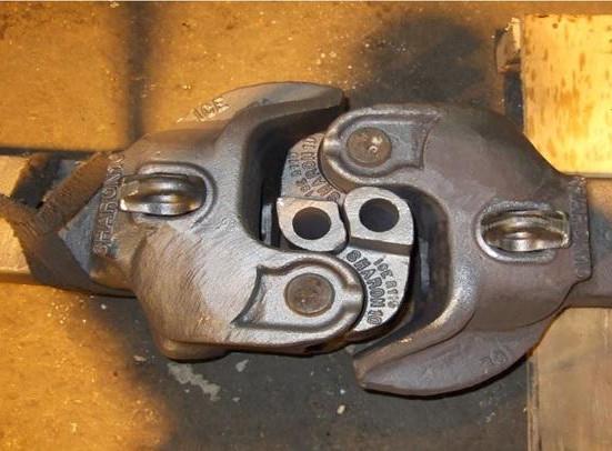 отреставрированная автосцепка са-3