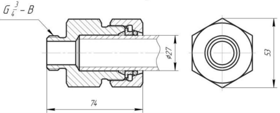 Схемы ниппеля 4371 №2